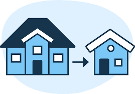 Sell a house to downsize quickly